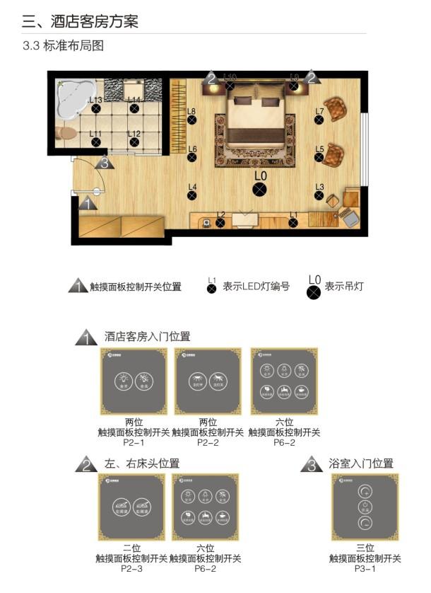 酒店客房智能照明控制系统 - 派德照明-广东珠江开关